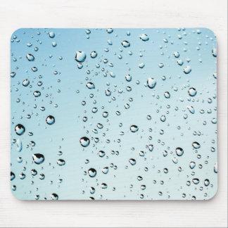 Baisses de pluie tapis de souris