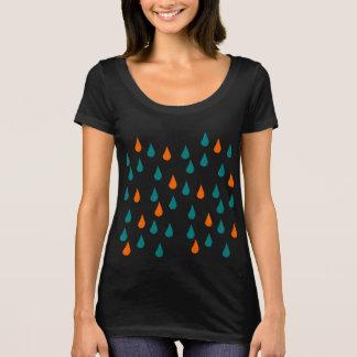 Baisses/prochain T-shirt de niveau de cou scoop