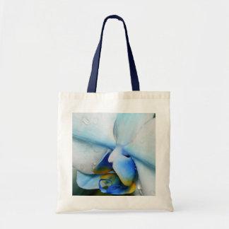 Baisses sur l'orchidée bleue sacs fourre-tout