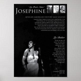 Baker de Josephine Poster