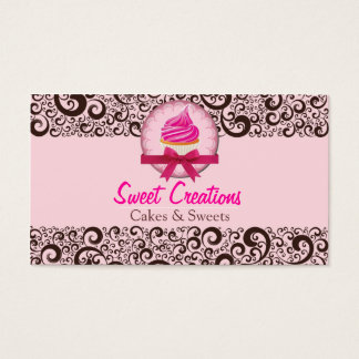 Bakery/Cakes/Sweets Creations Cartes De Visite