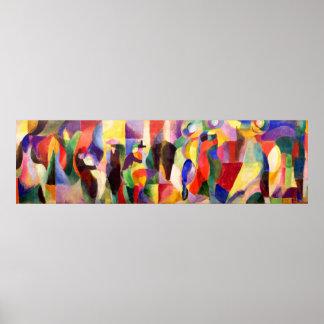 BAL Bullier - art abstrait de tango par Sonia Posters