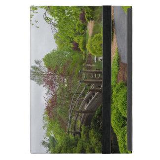 Balade nuageuse de jardin de jour coque iPad mini