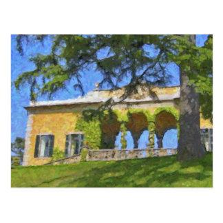 Balbianello Balaustre dans Como, carte postale