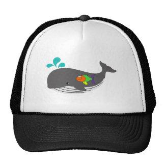 Baleine amicale casquettes de camionneur