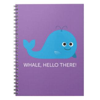 Baleine, bonjour là ! Carnet