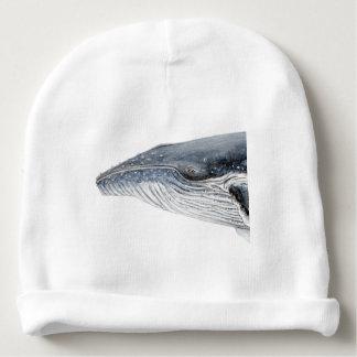 Baleine bossue - yubarta - image bonnet de bébé