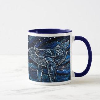 Baleine de bosse mug