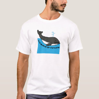Baleine de la fortune t-shirt