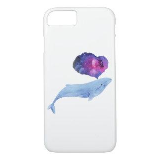 Baleine de l'espace coque iPhone 8/7