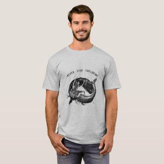 Baleine et sirène - le T-shirt des hommes