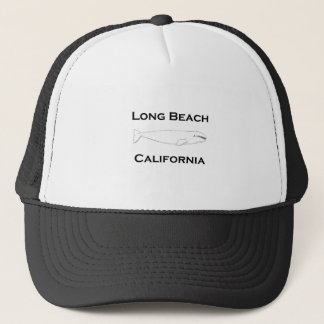 Baleine grise de Long Beach la Californie Casquette De Camionneur