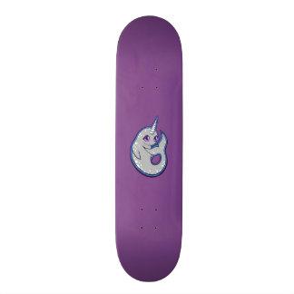 Baleine grise de Narwhal avec la conception de Skateboards Personnalisés