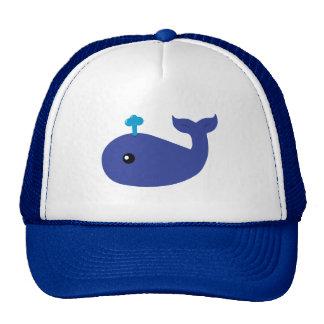 Baleine mignonne casquette