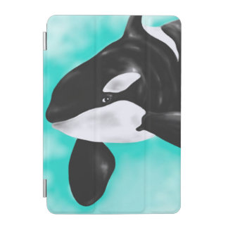 Baleine mignonne d'orque protection iPad mini