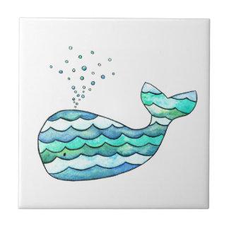 Baleine onduleuse petit carreau carré