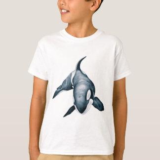 Baleine solitaire d'orque t-shirt