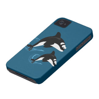 baleines coque Case-Mate iPhone 4