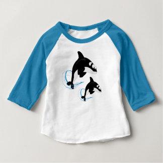 baleines t-shirt pour bébé