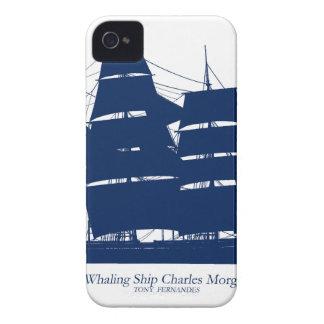 baleinier élégant Charles Morgan de fernandes Coques iPhone 4