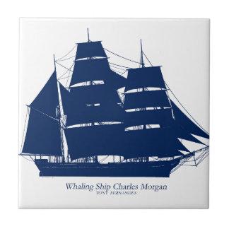 baleinier élégant Charles Morgan de fernandes Petit Carreau Carré