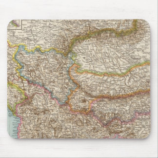 Balkanhalbinsel - carte de péninsule balkanique tapis de souris