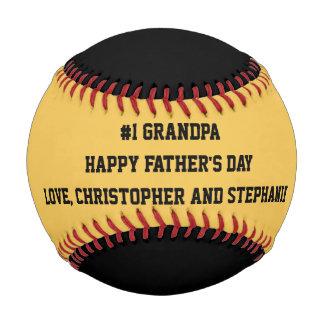 Balle De Baseball Base-ball heureux de fête des pères, #1