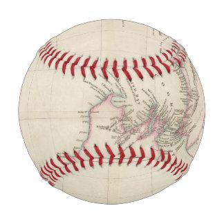 Balle De Baseball Carte de la colonie de la Nouvelle Zélande