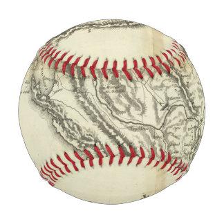 Balle De Baseball Carte de l'Albanie
