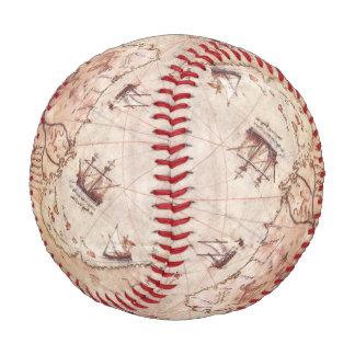 Balle De Baseball Carte de Vieux Monde de Piri Reis