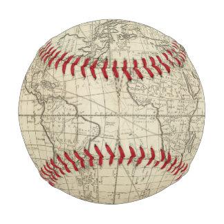 Balle De Baseball Carte du monde 2