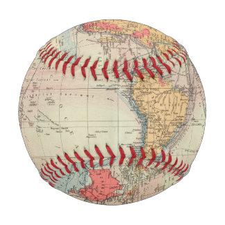 Balle De Baseball Empire Britannique, itinéraires, courants