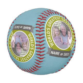 Balle De Baseball Le plus grand modèle photo de coutume de