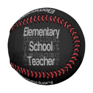 Balle De Baseball Maître d'école élémentaire Extraordinaire