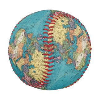 Balle De Baseball Monde, la projection de Mercator