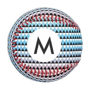 Balle De Baseball Motif aztèque tribal d'Ombre
