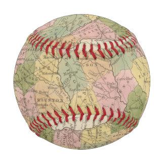 Balle De Baseball Nouvelle carte de la Géorgie