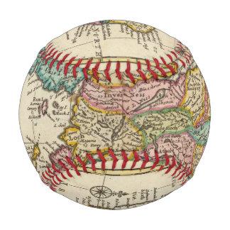 Balle De Baseball Nouvelle et correcte carte de l'Ecosse et des îles