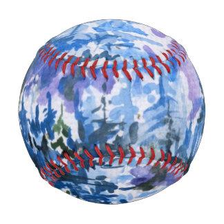 Balle De Baseball Paysage d'hiver