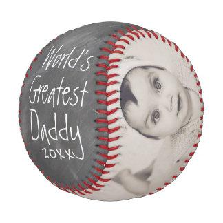 Balle De Baseball Personnalisé d'une fête des pères faite sur