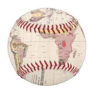 Balle De Baseball Structure géologique de globe