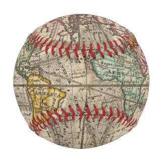 Balle De Baseball Une nouvelle carte du monde entier avec les vents