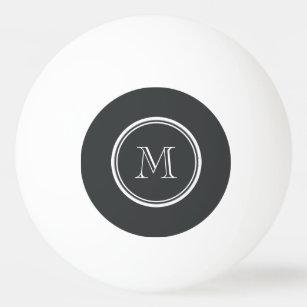 Balle De Ping Pong À extrémité élevé d'onyx coloré personnalisé