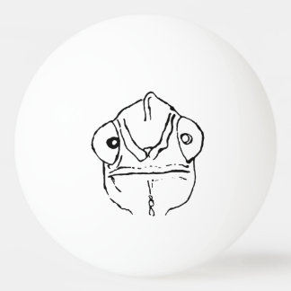 Balle De Ping Pong Boule de ping-pong maladroite de caméléon