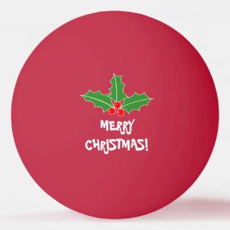 Balle De Ping Pong Boules de ping-pong de Joyeux Noël pour le