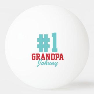 Balle De Ping Pong Boules de ping-pong de photo de Noël de grand-papa