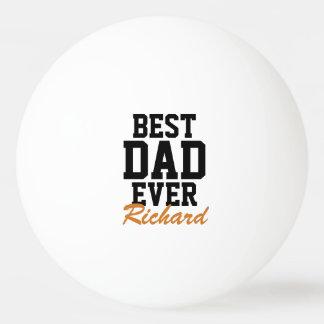 Balle De Ping Pong Boules de ping-pong décorées d'un monogramme de
