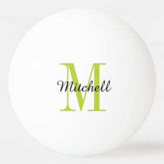 Balle De Ping Pong Boules de ping-pong personnalisées par monogramme