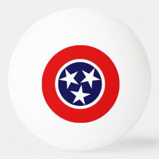 Balle De Ping Pong Conception de drapeau du TENNESSEE -