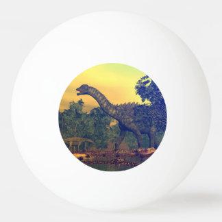 Balle De Ping Pong Dinosaures d'Ampelosaurus